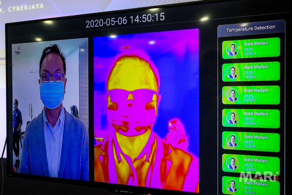 G3 Global thermal scanning and face recognition solutions