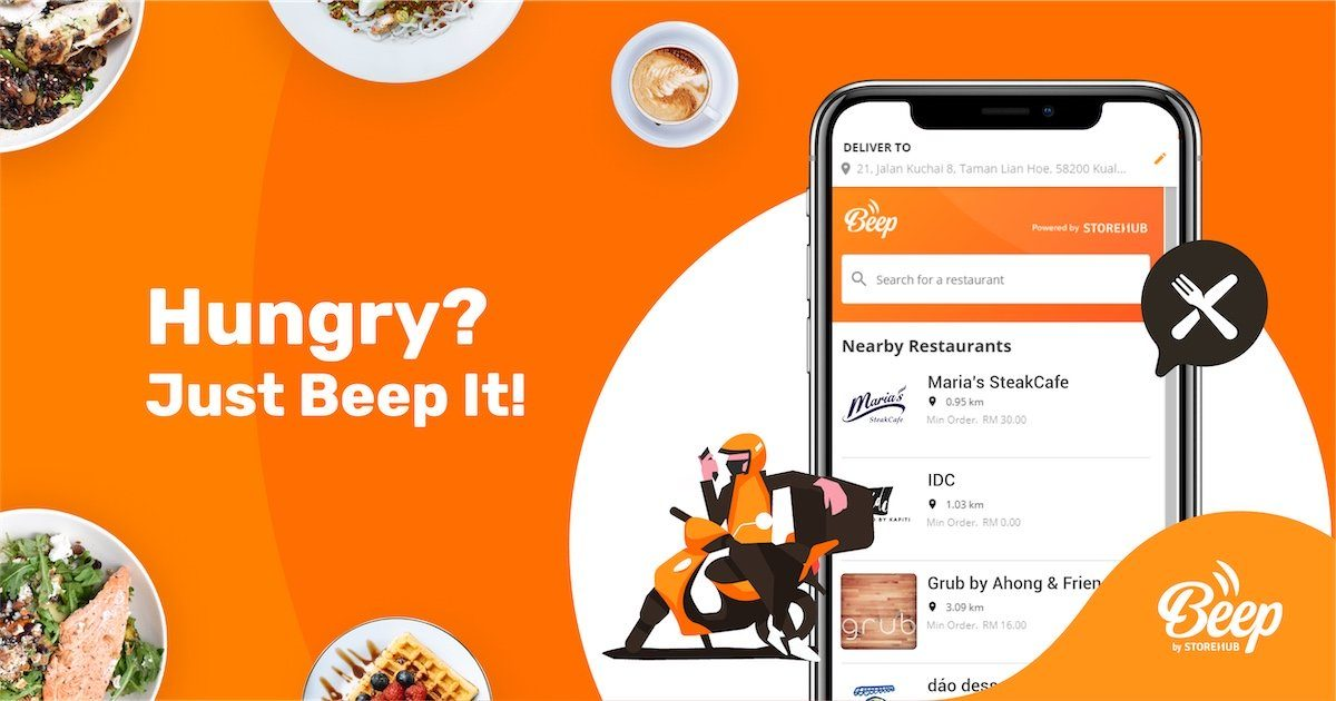 Food Delievery: Beep by StoreHub