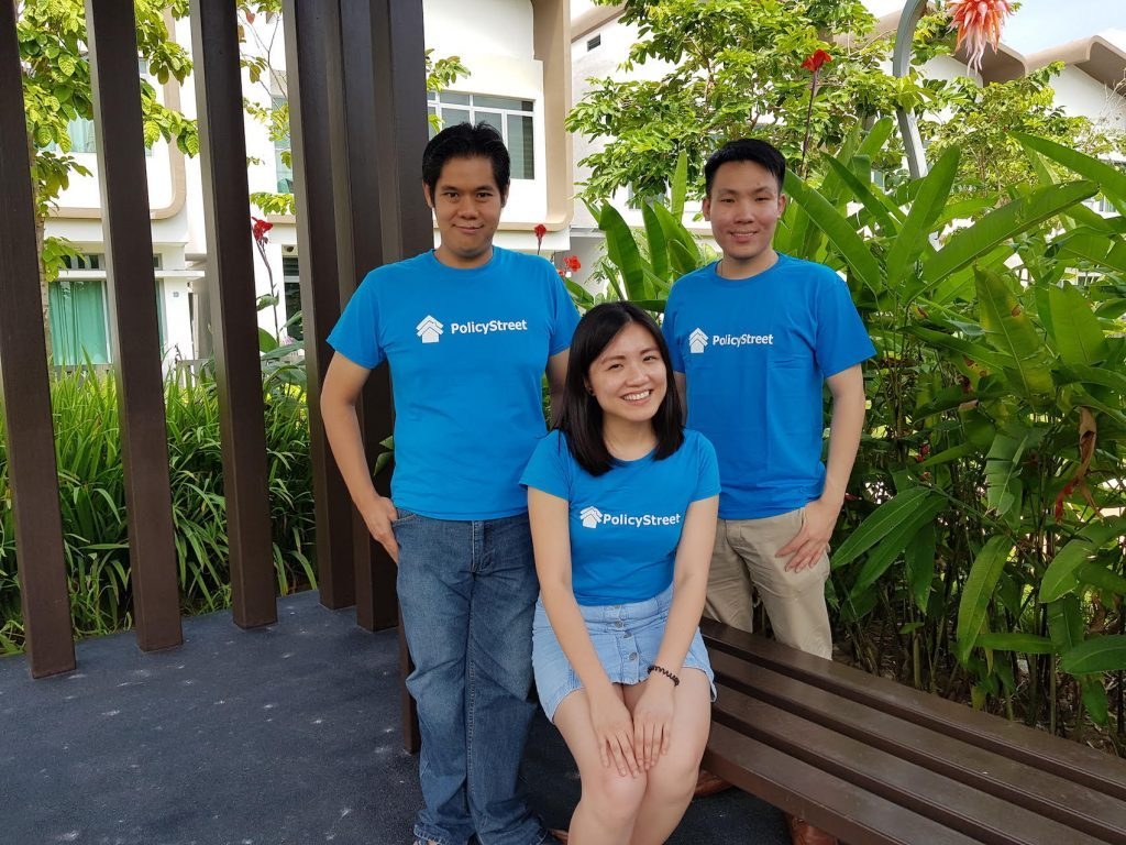 PolicyStreet co-founders